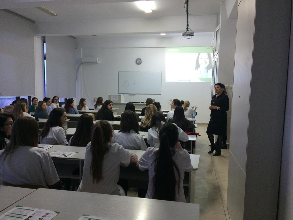 Programul Farmacia Viitorului a fost prezentat studenților la Farmacie din Iași, joi, 7 martie 2019