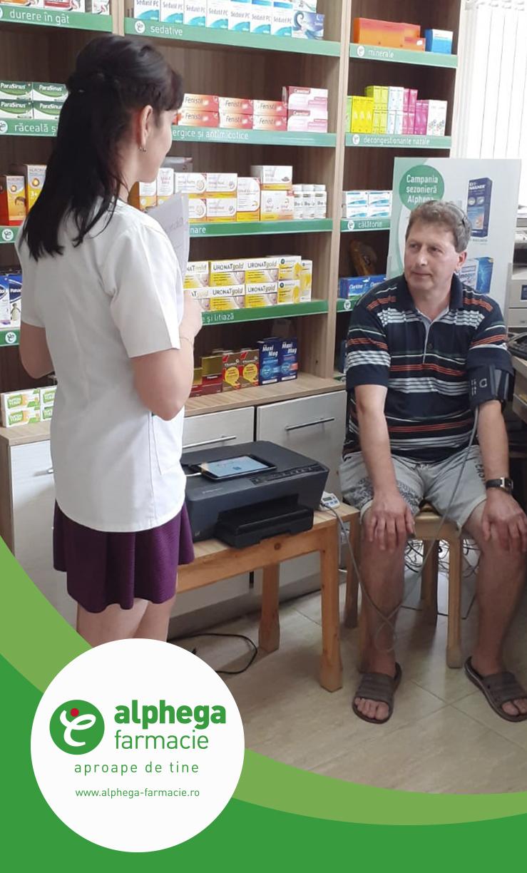 Campanie de prevenție și informare privind bolile cardiovasculare și bolile pulmonare în farmaciile partenere Alphega