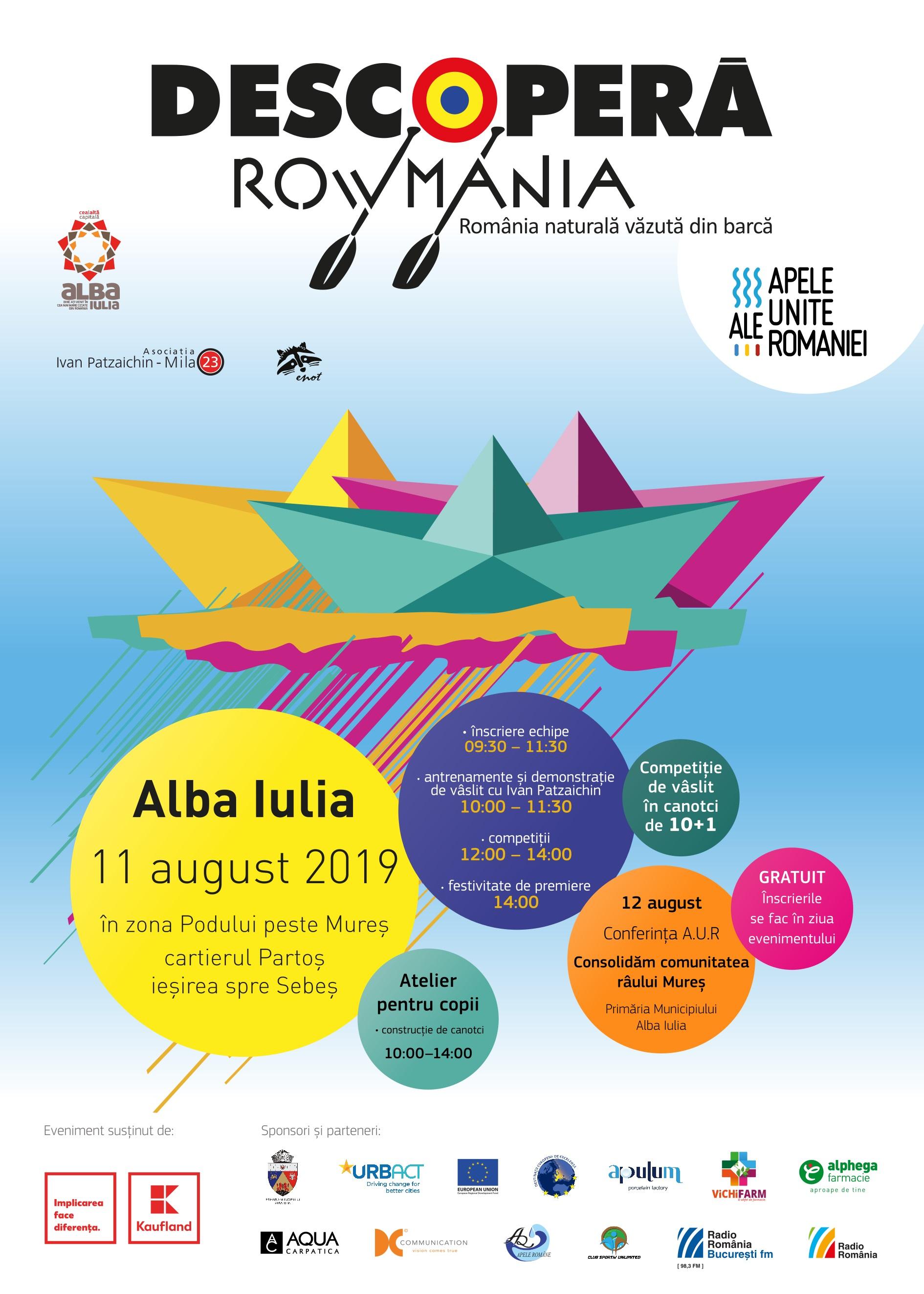 Farmaciile Alphega, aproape de natură și  de participanții la Descoperă Rowmania