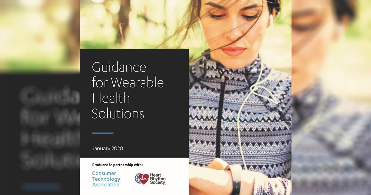 Guidance for Wearable Health Solutions: Primul ghid care se adresează utilizatorilor de tehnologii pentru monitorizarea sănătății