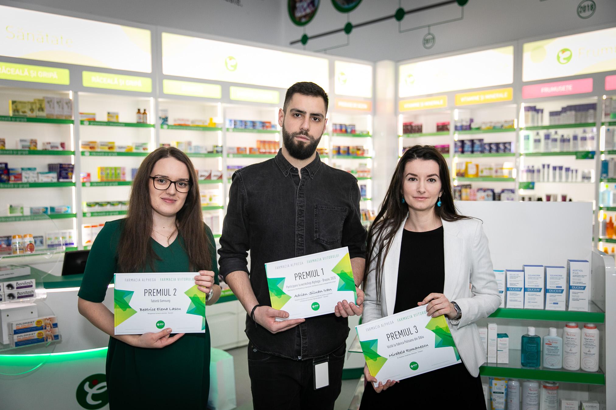 """""""Farmaciștii Viitorului"""", premiați la început de an"""