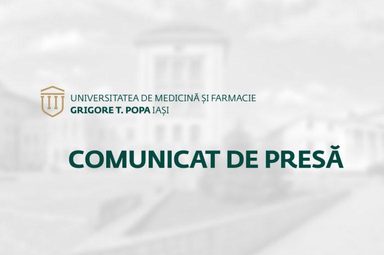 Asociația Universităților de Medicină și Farmacie din România: Universităţile de medicină şi farmacie din românia se mobilizează pentru a sprijini sistemul sanitar