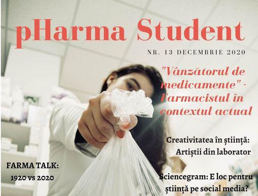 A apărut un nou număr al revistei pHarma Student