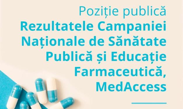 Federația Asociațiilor Studenților Farmaciști din România: Campanie Națională de Sănătate Publică și Educație cu privire la administrarea suplimentelor alimentare